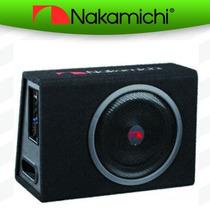 Cajón Subwoofer 12 Pre Amplificador 150 Rms Nakamichi Nbx30a