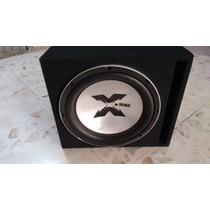 Woofer 12 X-max Doble Bobina Con Cajon