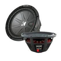 Subwoofer Kicker 10 Compr Cwr104 Doble Bobina 400 Watts Rms