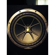 Cajón De Bajos Bass-reflex Kicker Dc12-2