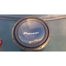 Cajón Con Par De Pioneer Doble Bobina De 12