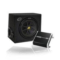 Cajon Subwoofer Amplificador Kicker 41kkp212 500w Control