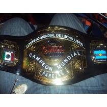 Cinturon De Lucha Libre Cmll P/niño Parejas