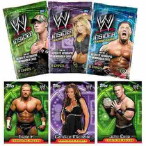 Wwe Insider Topps Trading Cards 3 Boosters Nuevos