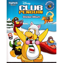 Album De Estampas Club Penguin Sticker