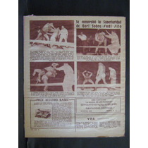 Articulo De La Revista Vea Gori Guerrero Vs Sugi Sito 1955