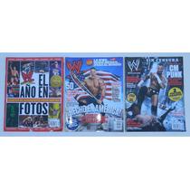 3 Revistas De Lucha Libre Wwe John Cena Cm Punk Randy Orton