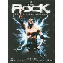 Dvd Wwe The Rock The Most Electric (3 Dvds) Box Collection