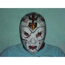 Mascara De Luchador Dr Wagner Tricolor P/adulto Semiprofesio