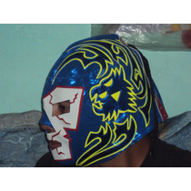 Mascara Luchador Dr. Wagner Jr. P/adulto Semiprofesional.