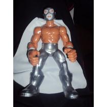 Nueva Figura Luchador Mexicano El Santo En Muñeco Patones