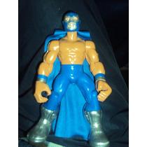 Nueva Figura Luchador Mexicano Blue Demon En Muñeco Patones