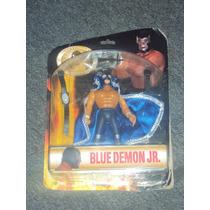 Luchador Mexicano Lizmark Blue Demon Leyendas De Lucha Libre