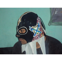 Wwe, Cmll Mascara Konan El Barbaro P/adulto Semiprofesional.