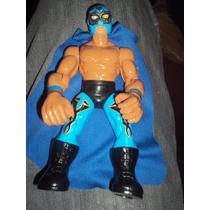 Figura Luchador Mexicano Volador En Muñeco Patones Lucha Lib