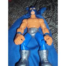 Figura Luchador Mexicano Lizmark En Muñeco Patones