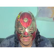 Wwe Cmll Aaa Mascara De Luchador Averno Semiprofesional.