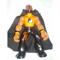 Figura Luchador Mexicano Kung-fu En Muñeco Patones Lucha Lib