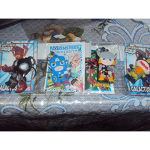 Llaveros Marvel. Thor, Ironman, Wolverine, Capitan America,