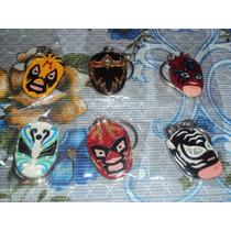 Llaveros Lucha Libre Wagner,mil Mascaras,parka,demon,panther