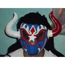 Mascara De Luchador Violencia P/adulto Esponja Toro