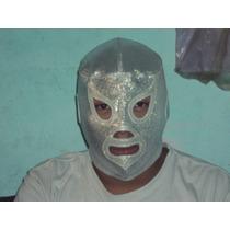 Mascara D Luchador Santo El Enmascarado De Plata Profesional