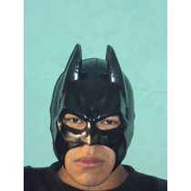 Marvel Dc Comics Mascara Tipo Luchador Batman Para Adulto