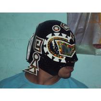 Mascara De Luchador Sangre Azteca Semiprofesional Adulto