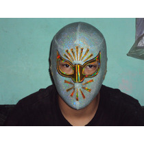 Mascara De Luchador Mistico P/adulto Semiprofesional Miztezi