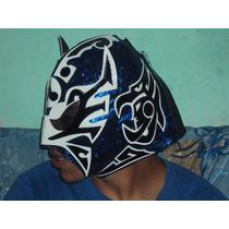 Mascara De Luchador Ultimo Guerrero P/adulto Autografiada