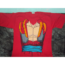 Playera Dragon Ball Gt De Cuerpo Goku Super Sayayin 4 Tall M