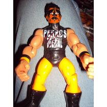 Figura Luchador Mexicano Halloween En Muñeco Patones Perros
