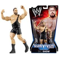 Figura Big Show Survivor Series Heritage Wwe Mattel Lucha