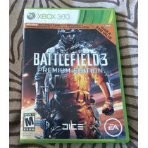 Battlefield 3 Xbox 360 Video Juego Premium Edition