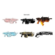 Skins Transparentes Gears Of War 3 Xbox