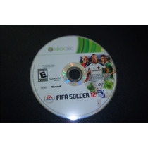 Dvd Fifa Soccer 2012 Xbox 360 Original Para Aficionados