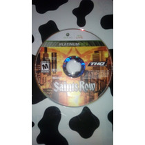 Saints Row Xbox 360 Solo Cd