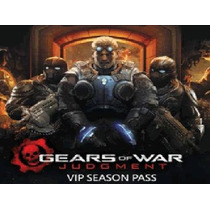 Pase Vip, Season Pass, Dlc Gears Of War Judgment