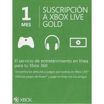 Cuenta Con Xbox Live Gold 1 Mes