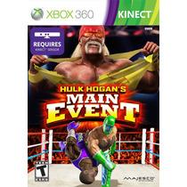 Hulk Hogans Main Event Xbox 360 Blakhelmet E