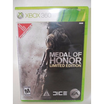 Medal Of Honor Limited Edition Juego Xbox 360 Disco D836
