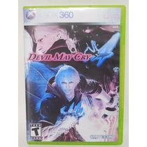 Devil May Cry Juego Xbox 360 Disco E635