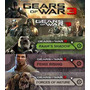 Season Pass Gears Of War 3, Personajes,skins Mapas Xbox 360