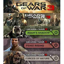 Season Pass, Dlc Gears Of War 3 Xbox 360