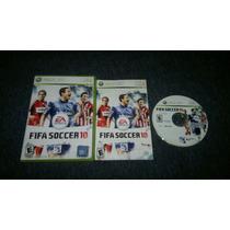 Fifa Soccer 10 Completo Para Xbox 360,excelente Titulo