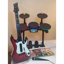 Guitar Hero Warriors Of Rock Con 4 Juegos