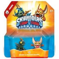 Skylanders Trap Team Drobit & Trigger Snappy Minis Nuevo