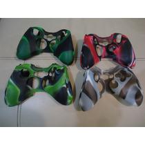 Funda Silicone Para Control Xbox 360 Camuflage