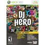 Dj Hero Xbox 360 Nuevo Solo Videojuego Blakhelmet E