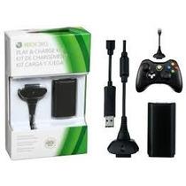 Kit Juega Y Carga Para Control Xbox 360